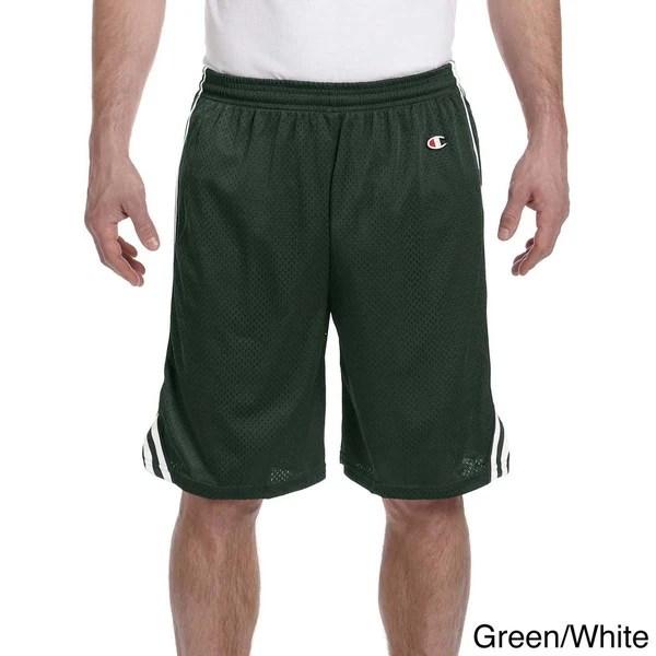 Shop Champion Men's Lacrosse Mesh Shorts - On Sale - Free ...