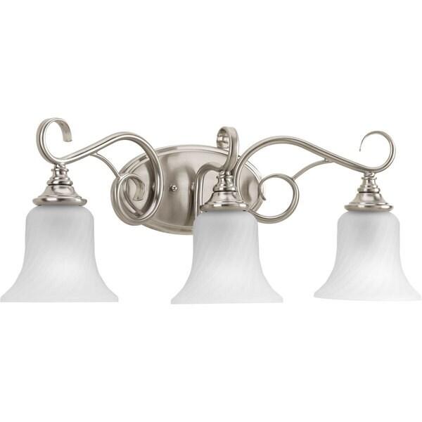 Brushed Nickel Bathroom Lights