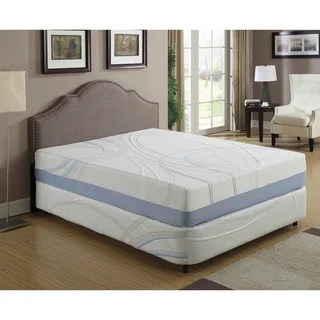 12 Inch California King Gel Infused Memory Foam Mattress Option