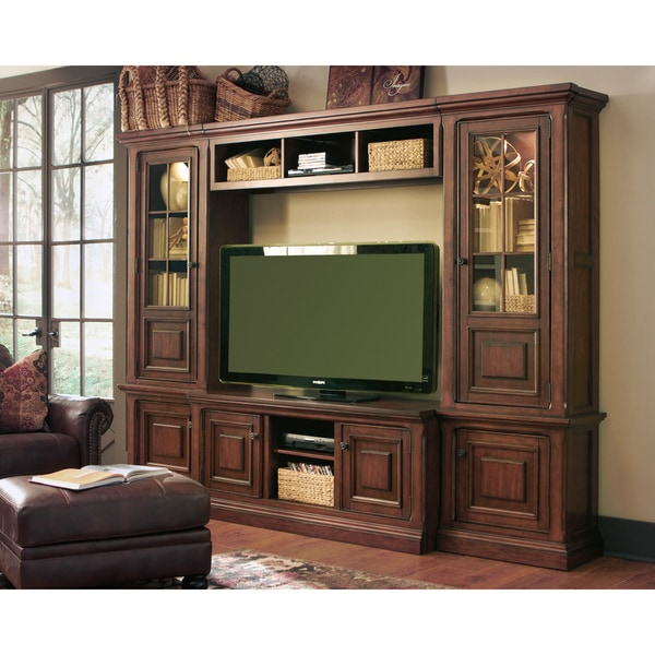 Shop Signature Design By Ashley Gaylon Large Brown TV