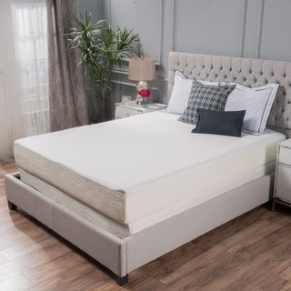 Choice 10 Inch Queen Size Memory Foam Mattress By Christopher Knight Home Option