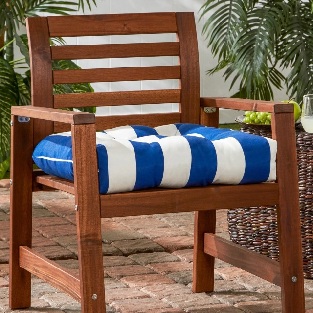 shop greendale home fashions cabana stripe 20-inch outdoor chair