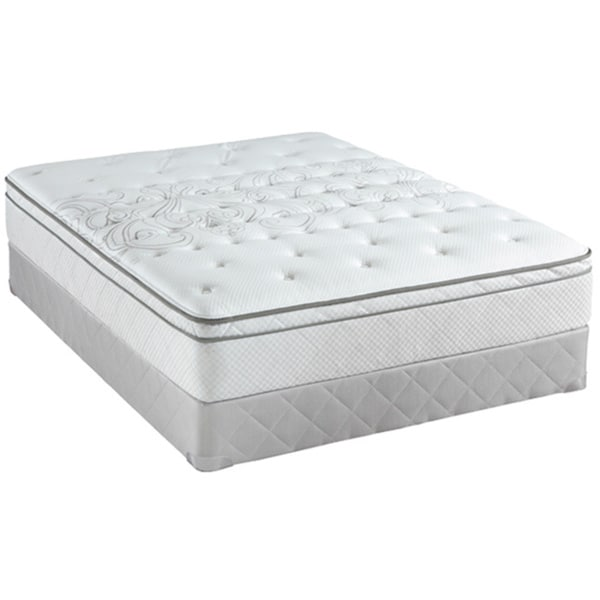 Sealy Posturepedic Classic Crystal City 11 5 Inch King Size Plush Pillow Top Mattress Set