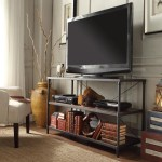 Harrison Industrial Rustic Pipe Frame Tv Stand Console Table By Inspire Q Classic On Sale Overstock 9973776