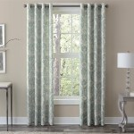Curtains Pelmets Set 2 Yellow Gray White Medallion Curtains Panels Drapes 63 84 Inch L Darkening Home Furniture Diy Cruzeirista Com Br