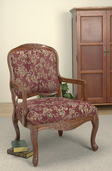 Chairs Room Burgundy Living Accent