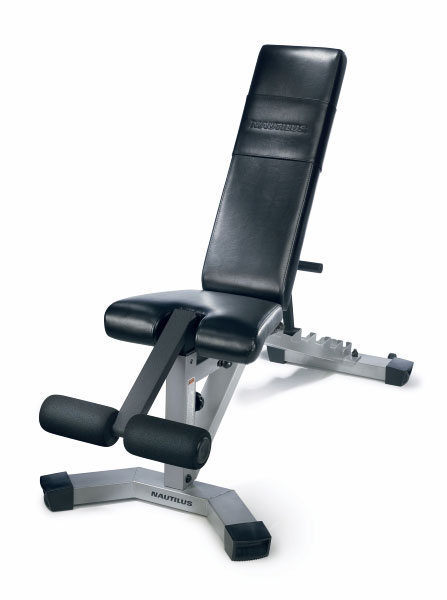 Nautilus Nt 1020 Adjustable Fitness Bench 10815493