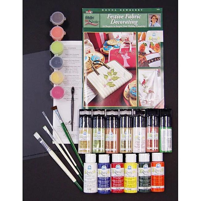 Donna Dewberry Seasonal Fabric Painting Kit 12126395