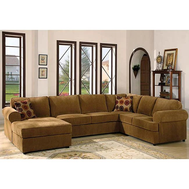 Chenille Fabric Sectional Sofa Chaise Lounge Alt Archive  sc 1 st  Scandle Candle : chenille sofa with chaise - Sectionals, Sofas & Couches