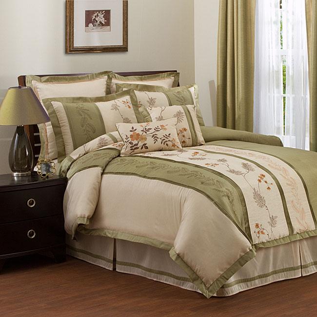 Lush Decor Ashlyn 8-Piece Comforter Set, King