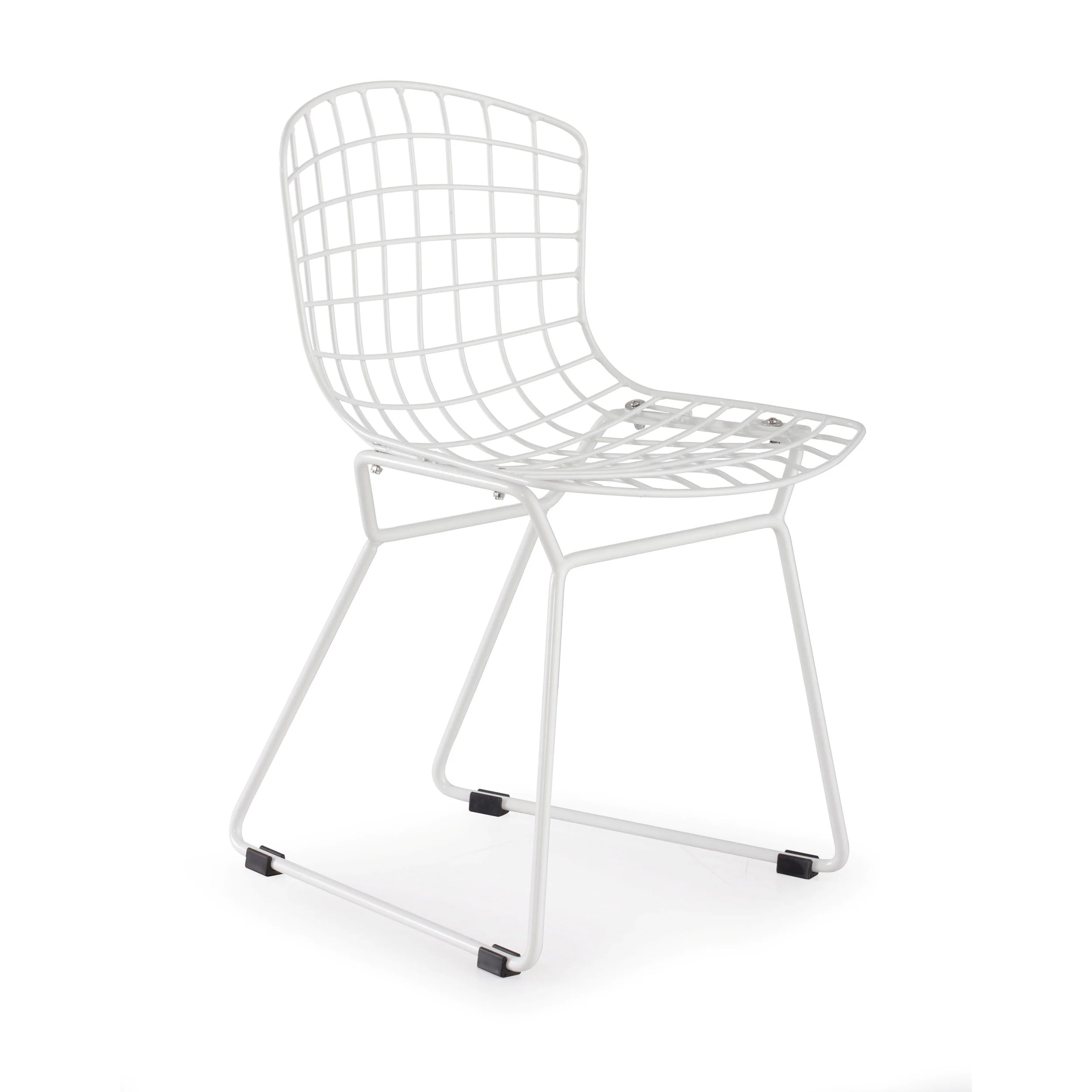 Baby Wire White Frame Chair Set Of 2