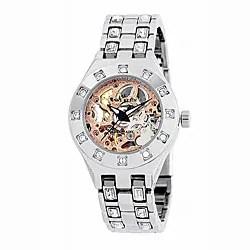 AK Anne Klein Women's Crystal Automatic Watch