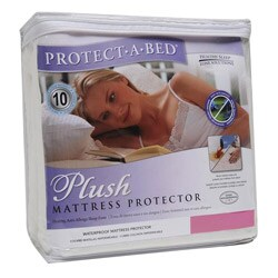 Protect A Bed Plush Cal King Size Mattress Protector