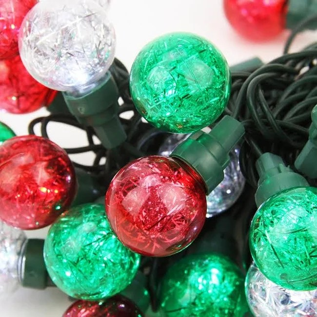 Red White Green Led Christmas Lights