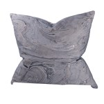 A B Home Gray And Gold 22 Inch Marble Throw Pillow On Sale Overstock 19532038