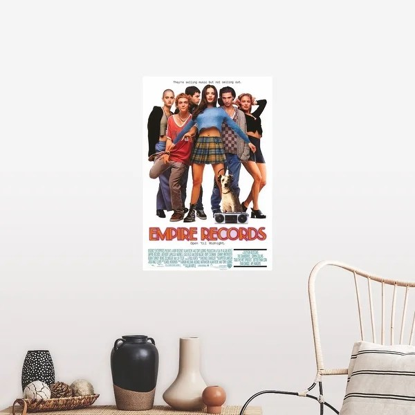 empire records 1995 poster print