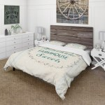 Designart Farmhouse Florals Viii Farmhouse Bedding Set Duvet Cover Shams Overstock 25971316
