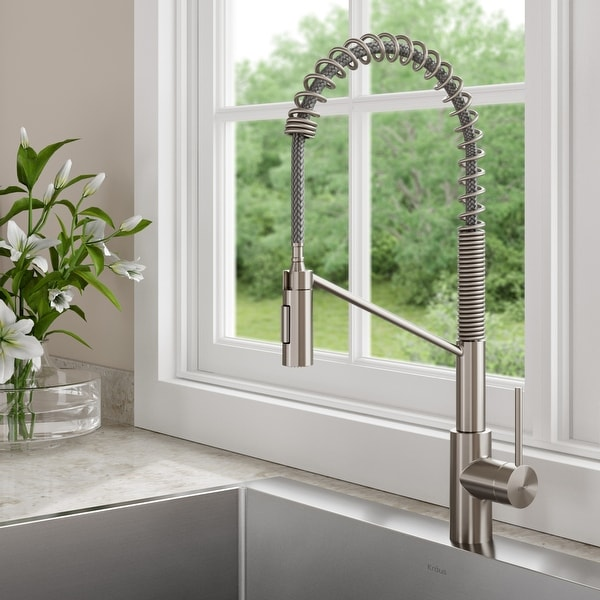 https www overstock ca home garden kraus kpf 2631 oletto 1 handle 2 function sprayhead commercial pull down kitchen faucet 20359695 product html