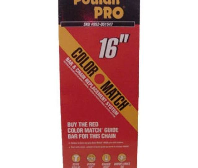 Poulan Pro 581562201 Replacement Chain  Pitch