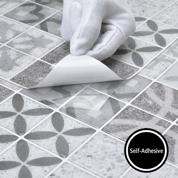 peel and stick backsplash tile stickers