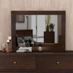 Harper Bright Designs Vintage Dresser Mirror Rich Brown On Sale Overstock 31825301