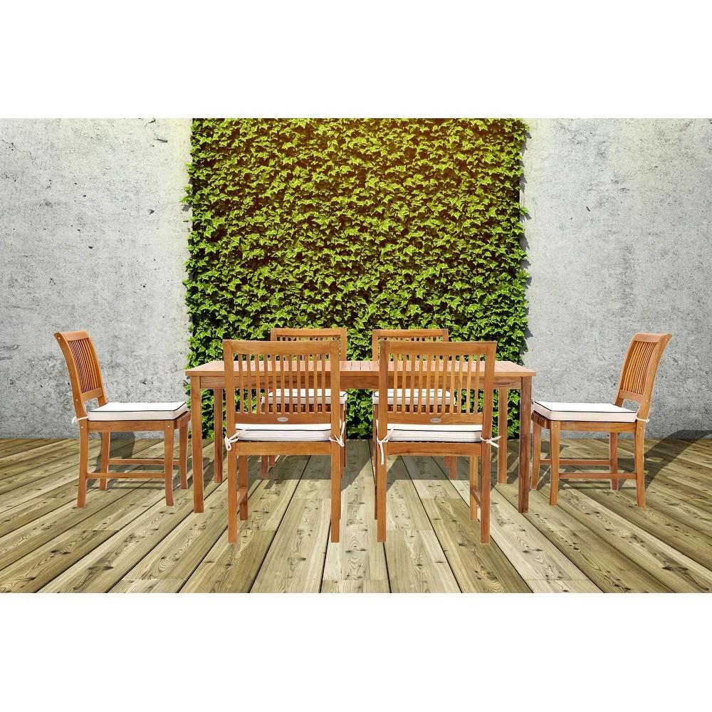 buy teak outdoor dining tables online