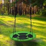 Children S Flying Saucer Swing Playground Platform Tree Swing 220lb Weight Capacity 7 6 X 9 6 Overstock 18795013