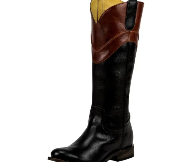 Justin Western Boots Womens Fashion Tall  Shaft Leather