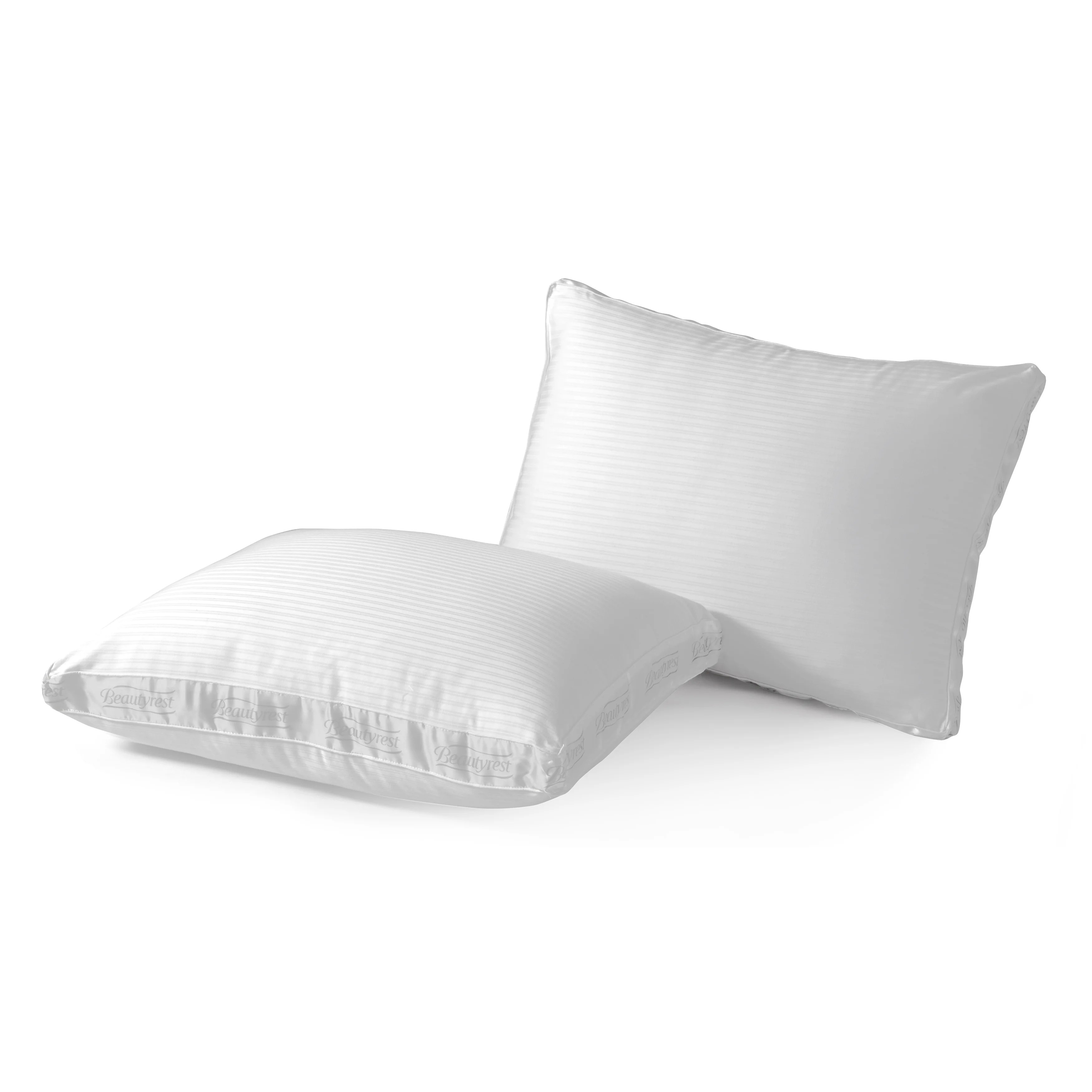 beautyrest extra firm support pillow standard set of 2 white