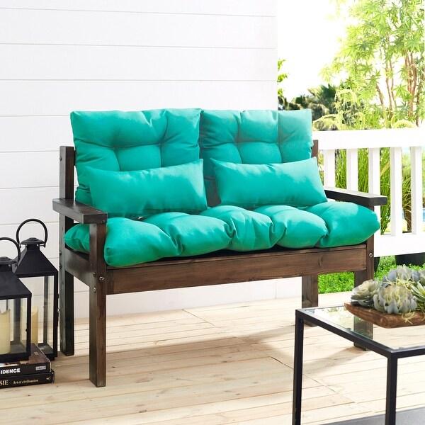 art leon 5 pieces patio seat cushions