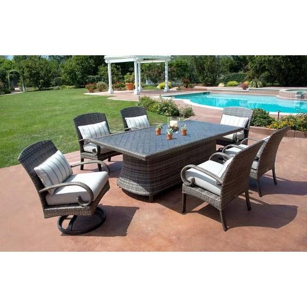 Shop Barcalounger Outdoor Living Captiva Isle 7pc Dining ... on Barcalounger Outdoor Living id=91165