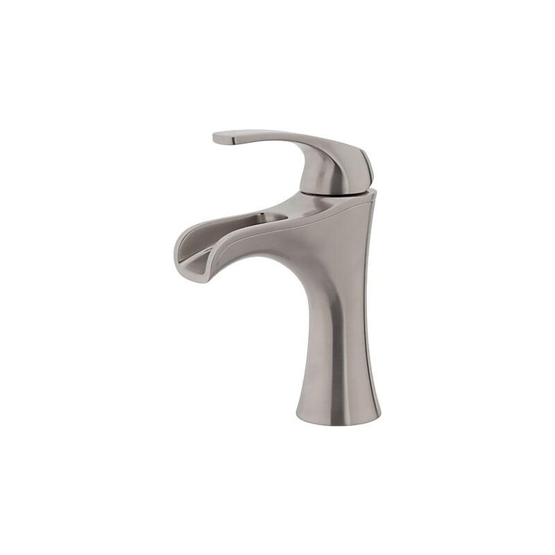 pfister lf 042 jd jaida waterfall bathroom faucet with push seal