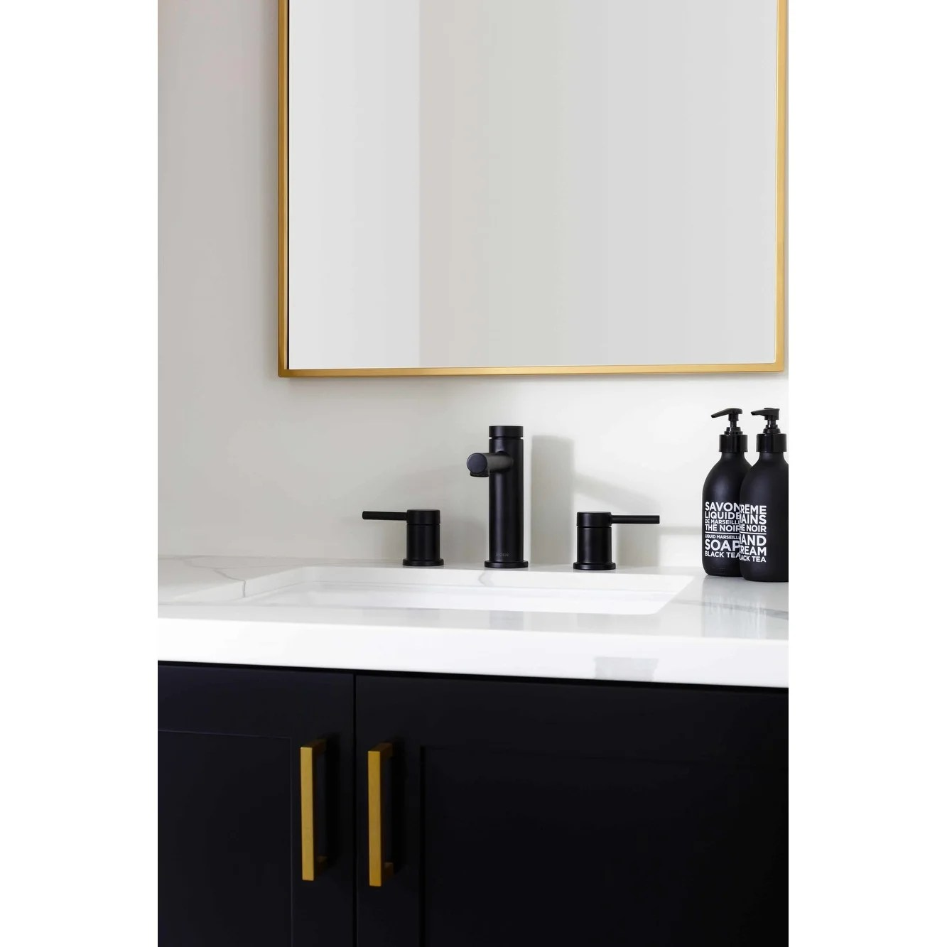 moen t6193 align 1 2 gpm widespread bathroom faucet