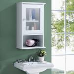 Shop Black Friday Deals On Gymax Wall Mounted Bathroom Cabinet Storage Organize Hanging Medicine Overstock 24206858