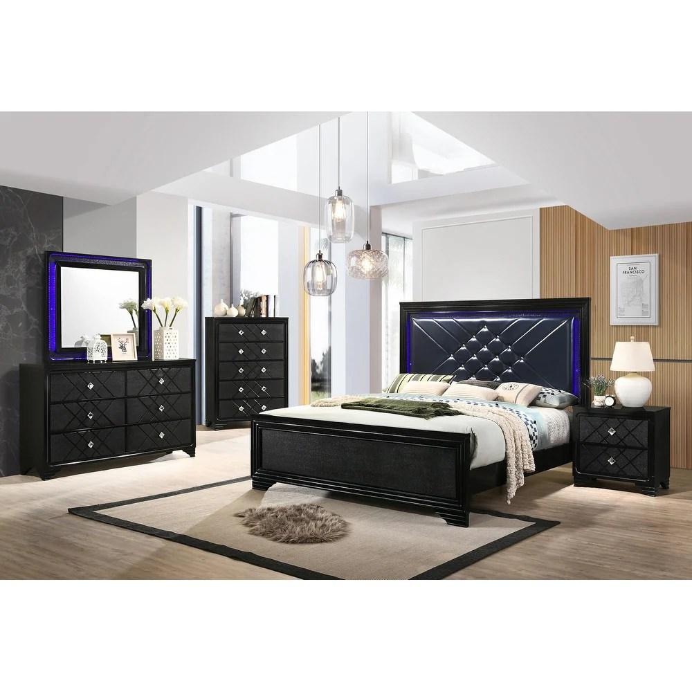 buy black modern contemporary