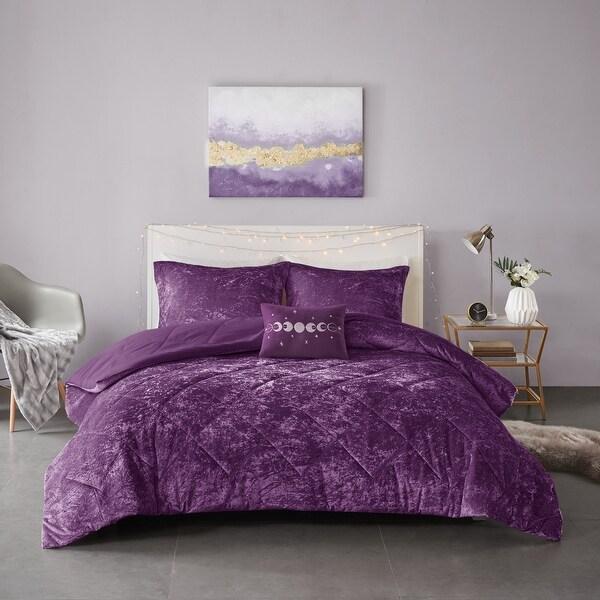 purple comforter sets find great