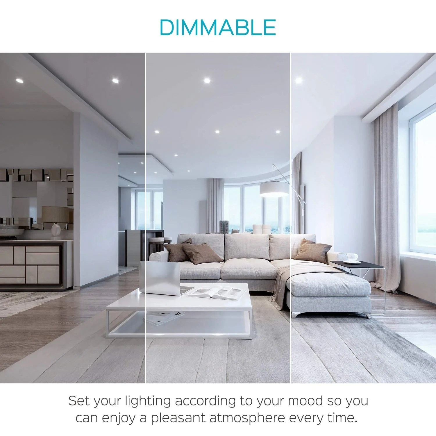 luxrite 6 inch square ultra thin led recessed light with j box 12w dimmable 850 lumens ic damp rated 12 pack