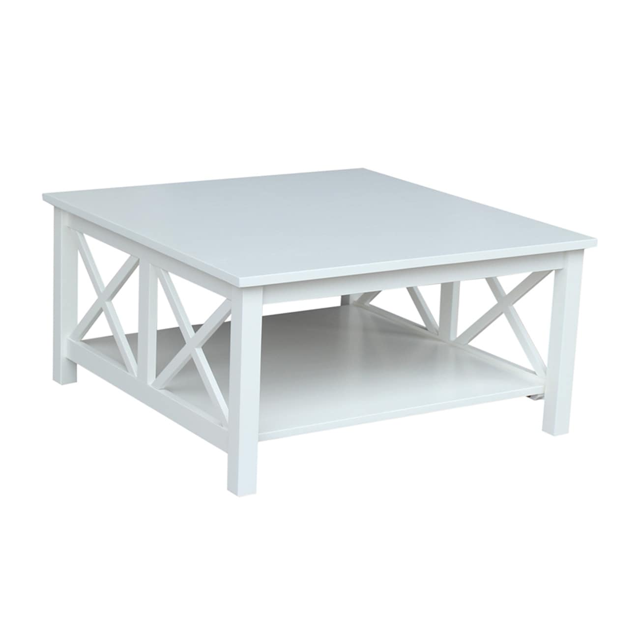 hampton solid hardwood square coffee table 36 x 36 36 x 36