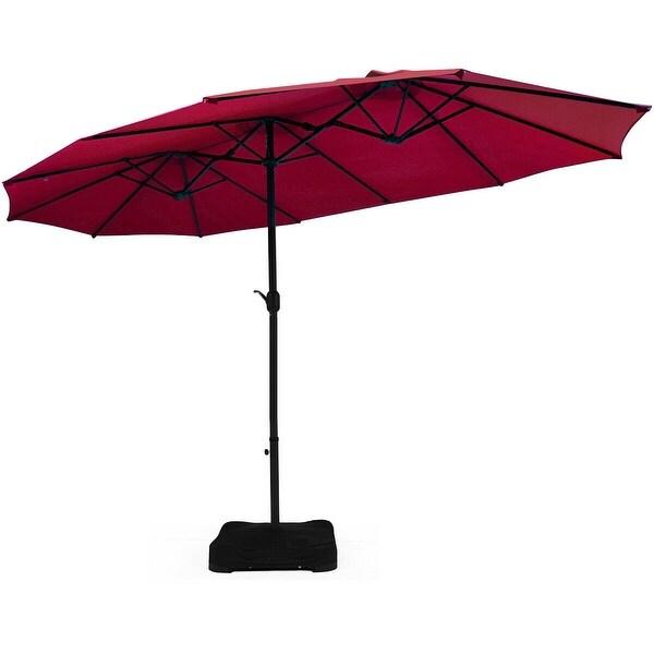 15 ft patio umbrella outdoor umbrella