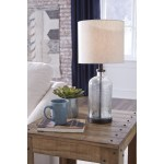 Shop Black Friday Deals On Bandile Modern Farmhouse Glass Table Lamp 10 W X 10 D X 22 H Overstock 31648729