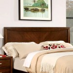 Shop Black Friday Deals On Furniture Of America Kasten Modern Brown Cherry Platform Bed Overstock 20931314