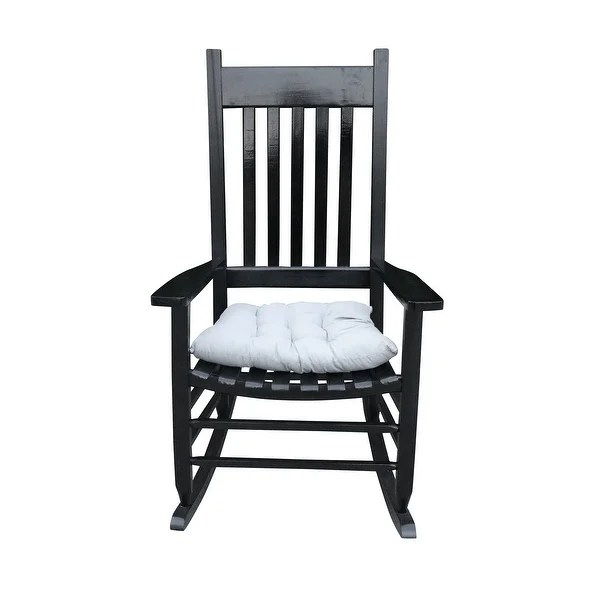 black wood patio furniture find