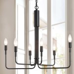 Shop Modern Contemporary 6 Light Chandeliers Pendant Lighting Fixture For Kitchen Dining Room Black L25 Xw13 5 Xh23 5 Overstock 30960537