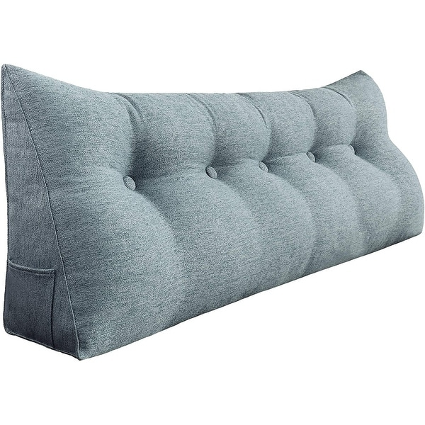 long back support pillow heaboard bed