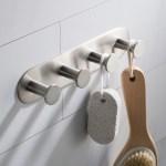 Shop Black Friday Deals On Kraus Elie Bathroom Robe And Towel Hook Rack With 4 Hooks Overstock 24267217