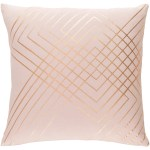 Decorative Rosa Blush 22 Inch Throw Pillow Cover Overstock 23143543