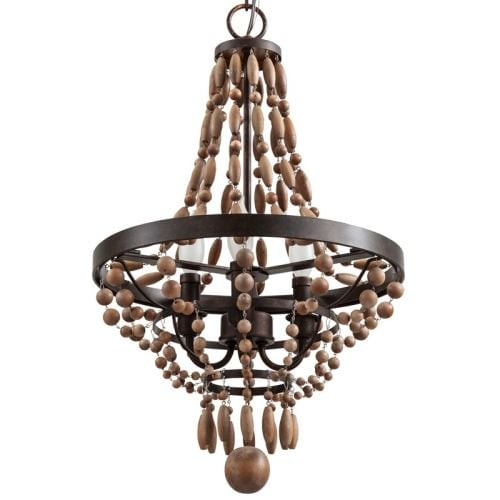 Wood Finish Ceiling Lights For Less
