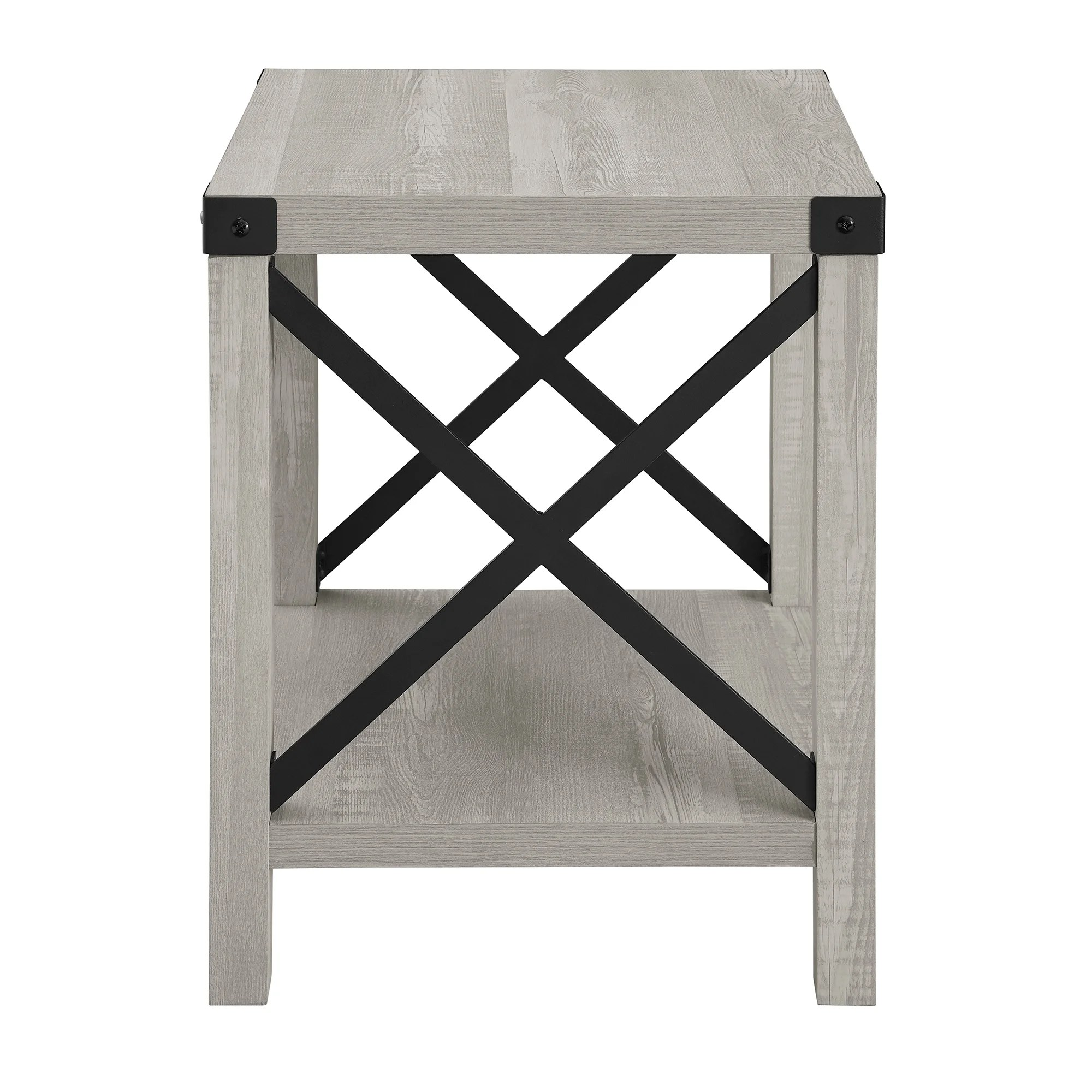the gray barn 18 inch kujawa x accent side table
