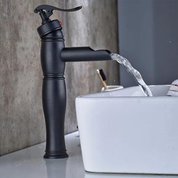 black bathroom faucets shop online at