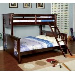 Furniture Of America Cude Mission Twin Xl Over Queen Kid Bunk Bed On Sale Overstock 10001083